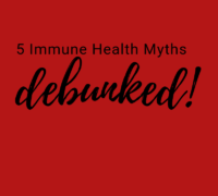 Immune Health Myths